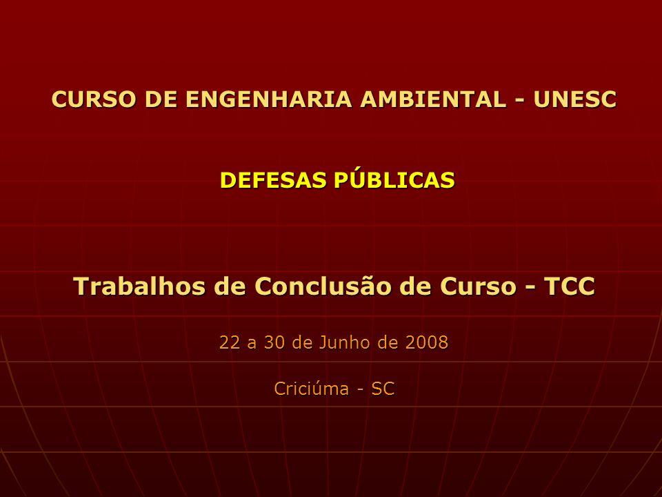 APLICAÇÃO DO INDICADOR DE SALUBRIDADE AMBIENTAL (ISA) PARA ÁREAS URBANAS.