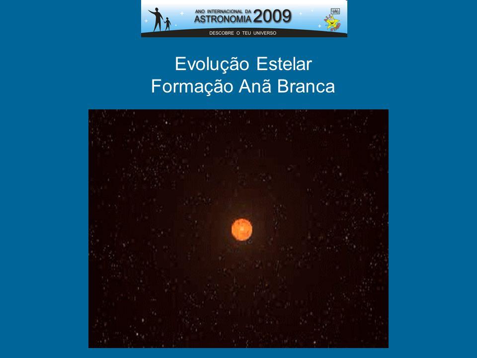 Evolução Estelar Formação Anã Branca