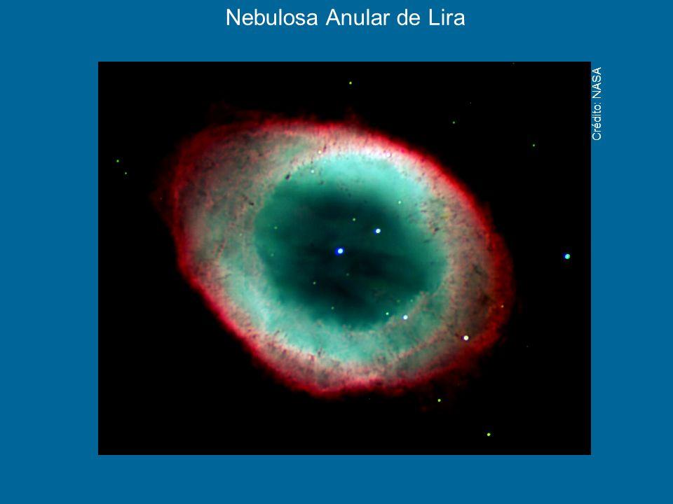 Nebulosa Anular de Lira Crédito: NASA