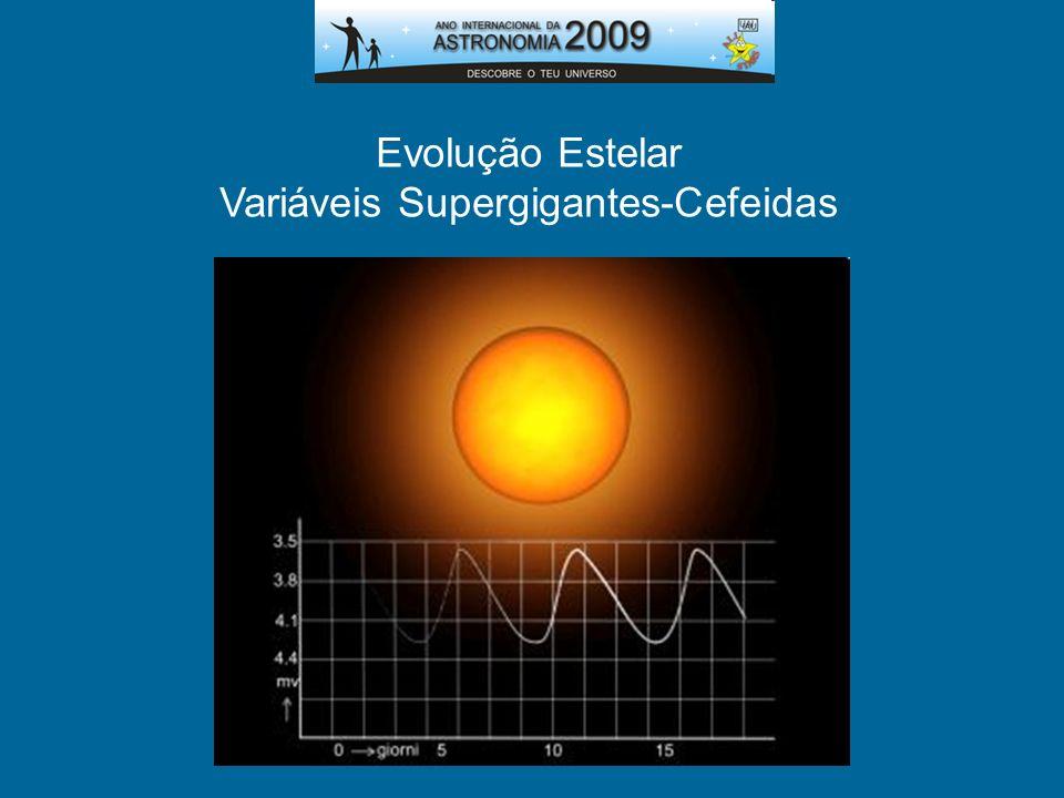 Evolução Estelar Variáveis Supergigantes-Cefeidas