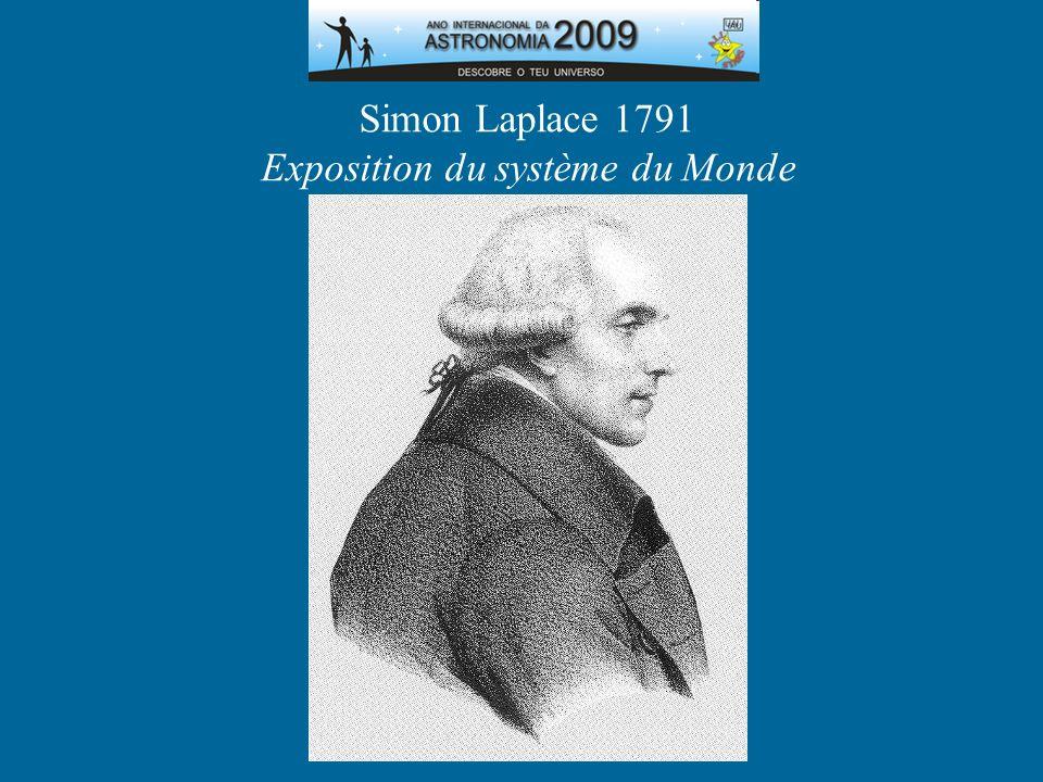 Simon Laplace 1791 Exposition du système du Monde