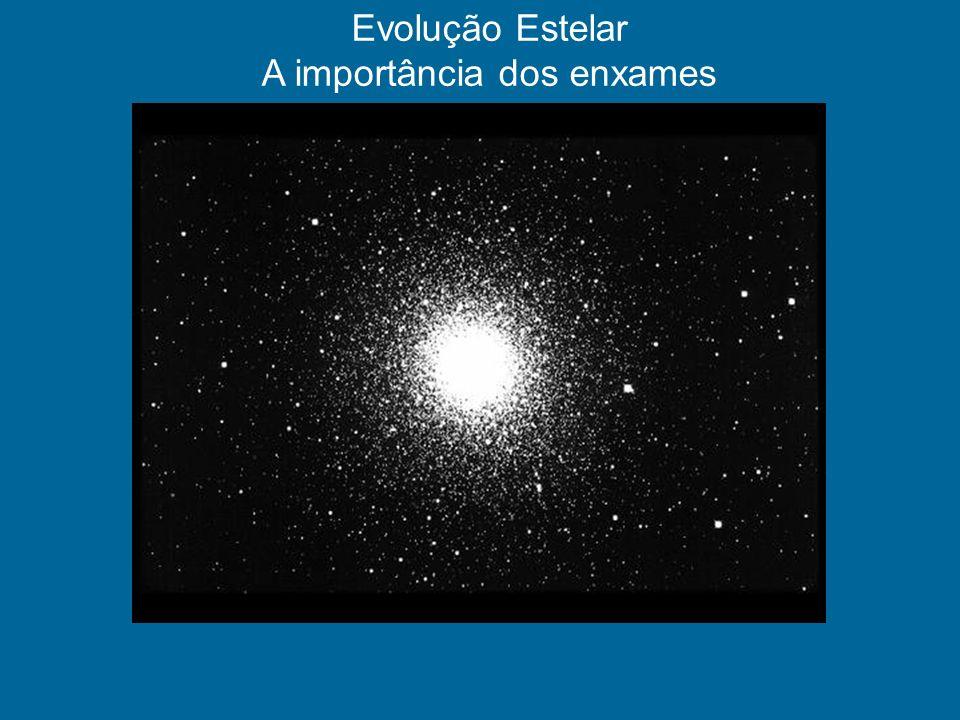 Evolução Estelar A importância dos enxames
