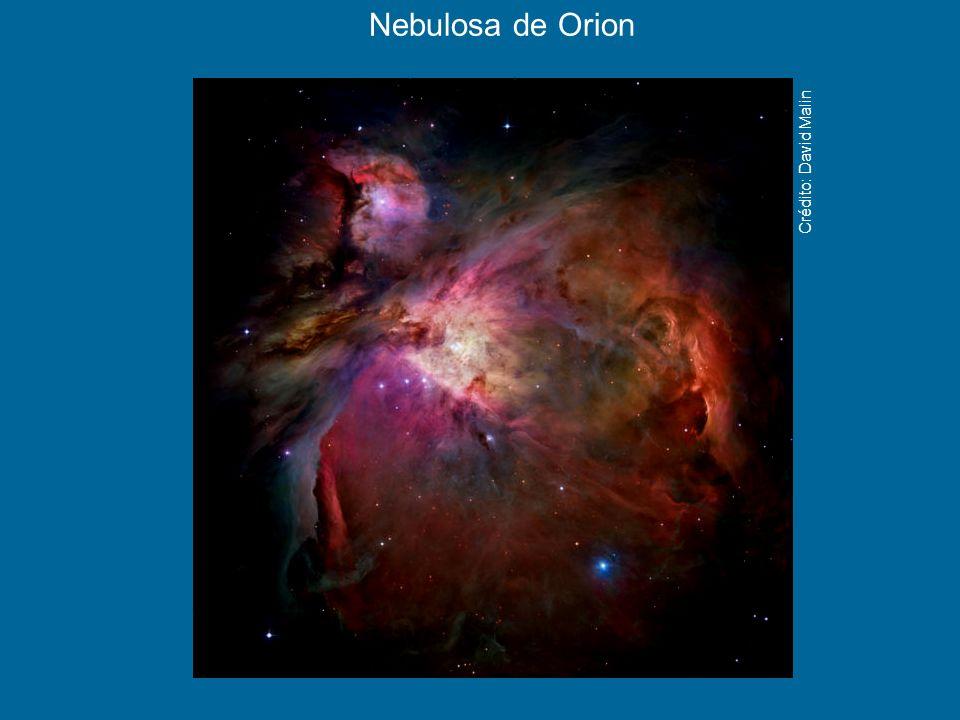 Nebulosa de Orion Crédito: David Malin