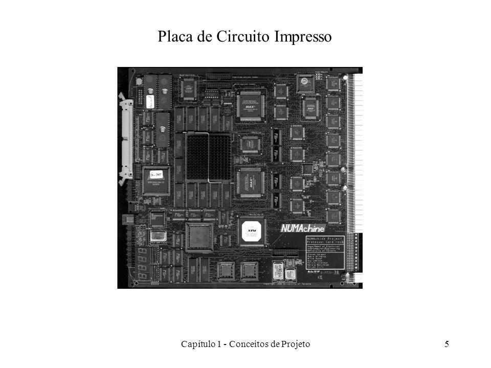Capítulo 1 - Conceitos de Projeto6 Desenvolvimento de um PCB Implementation Finished PCB Build prototype Testing Correct.