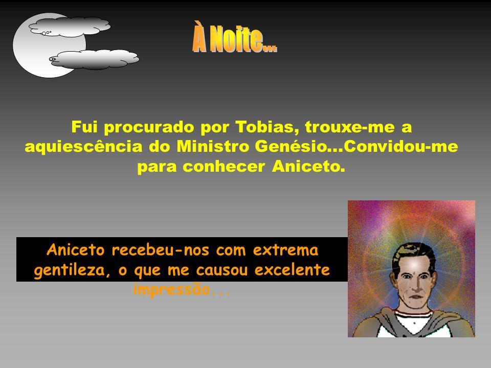 Depois de examinar-me com atenção, o orientador aduziu: Não há o que embargar, meu prezado Tobias.