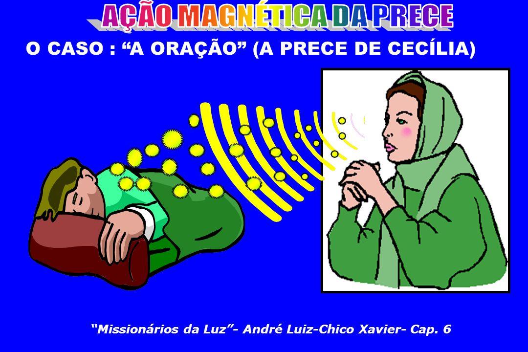 Missionários da Luz- André Luiz-Chico Xavier- Cap. 6 O CASO : A ORAÇÃO (A PRECE DE CECÍLIA)
