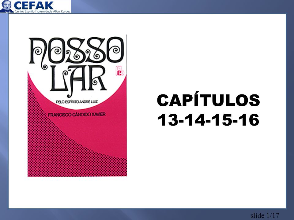 slide 1/17 CAPÍTULOS 13-14-15-16