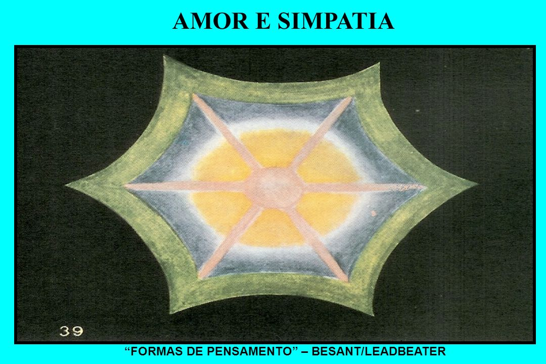 AMOR E SIMPATIA FORMAS DE PENSAMENTO – BESANT/LEADBEATER