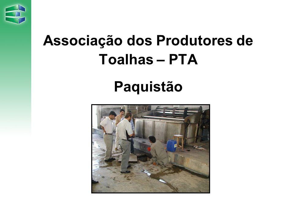 Associação dos Produtores de Toalhas – PTA Paquistão