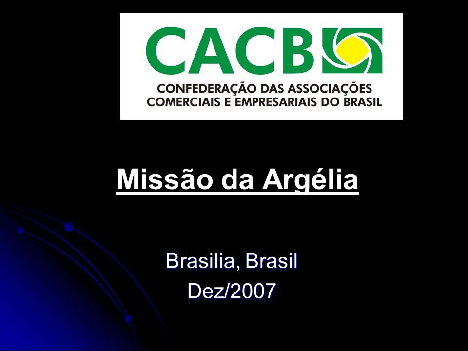 Missão da Argélia Brasilia, Brasil Dez/2007