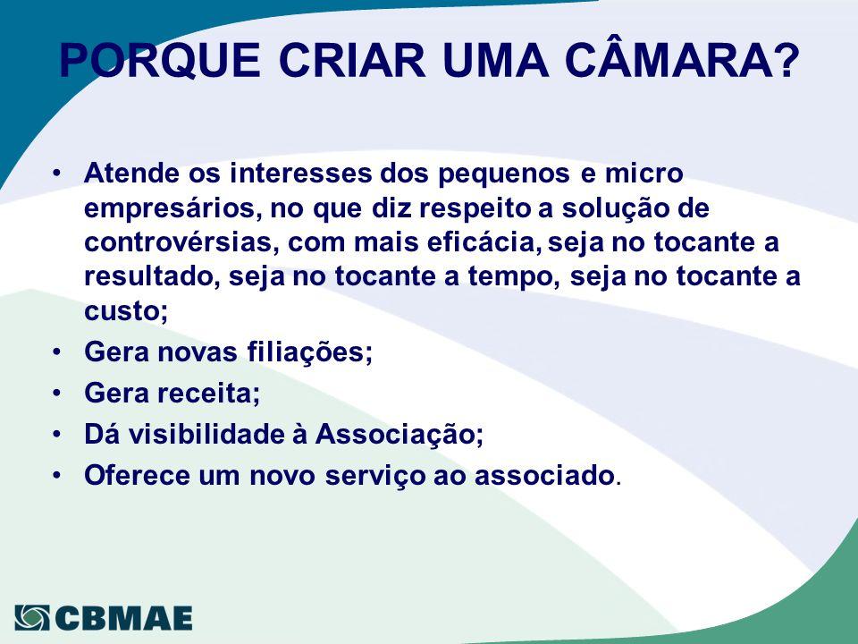 PORQUE CRIAR UMA CÂMARA.