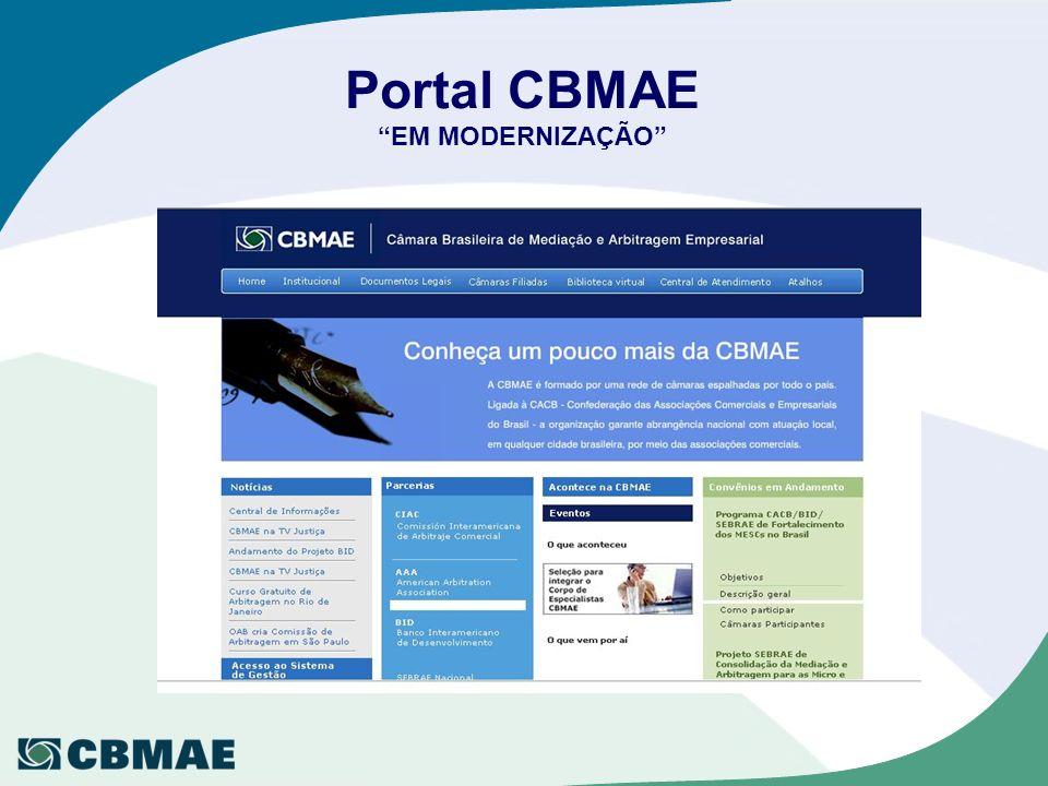 Portal CBMAE EM MODERNIZAÇÃO