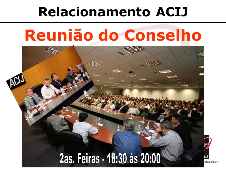 Reunião do Conselho Relacionamento ACIJ