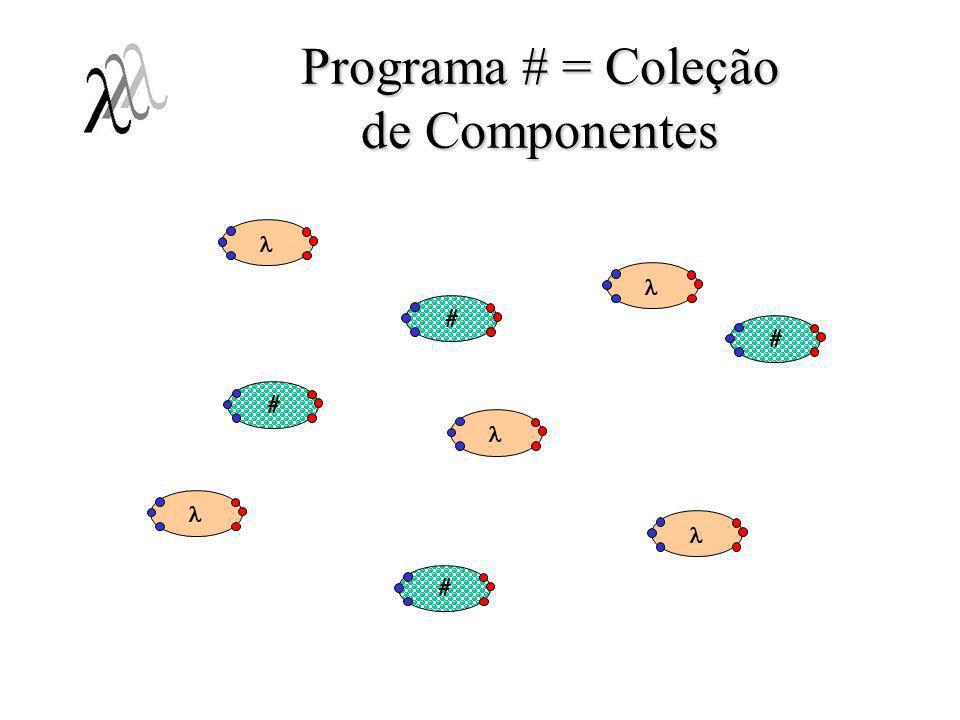 Programa # = Coleção de Componentes ####