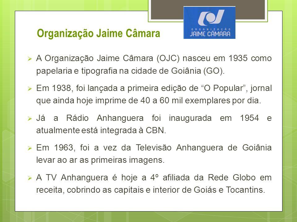 A Organização Jaime Câmara (OJC) nasceu em 1935 como papelaria e tipografia na cidade de Goiânia (GO). Em 1938, foi lançada a primeira edição de O Pop