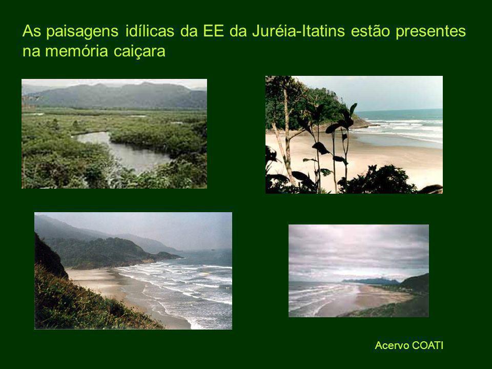 Acervo COATI As paisagens idílicas da EE da Juréia-Itatins estão presentes na memória caiçara