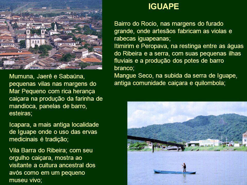 Mumuna, Jaerê e Sabaúna, pequenas vilas nas margens do Mar Pequeno com rica herança caiçara na produção da farinha de mandioca, panelas de barro, este