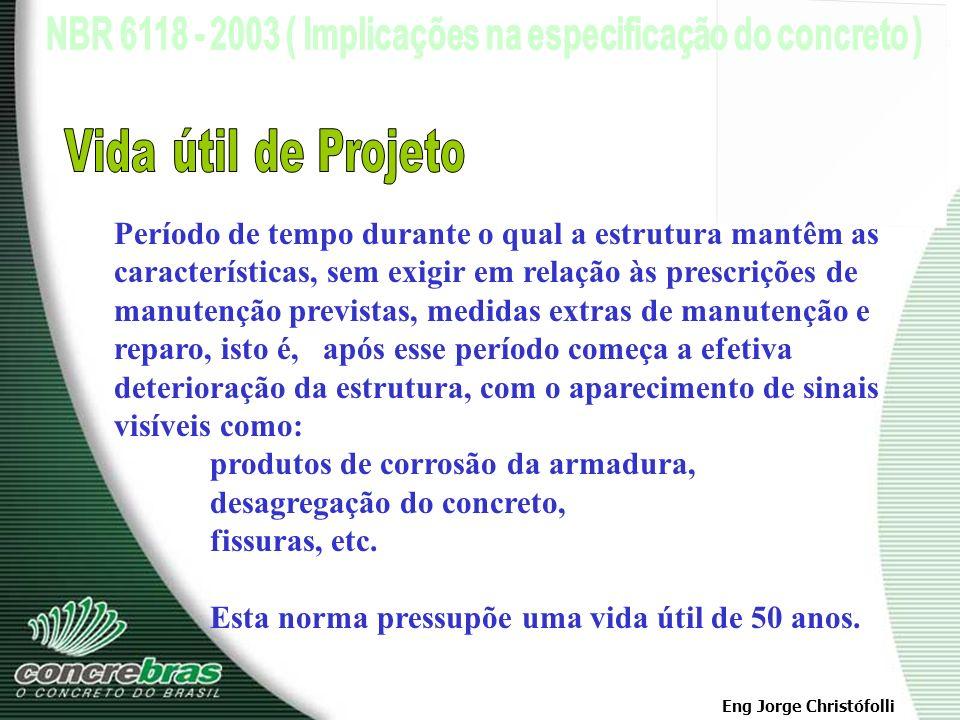 Eng Jorge Christófolli Obs.: Cerca de metade dos defeitos verificados nas construções tem origem na fase de projeto. Condições impostas ao Projeto A)