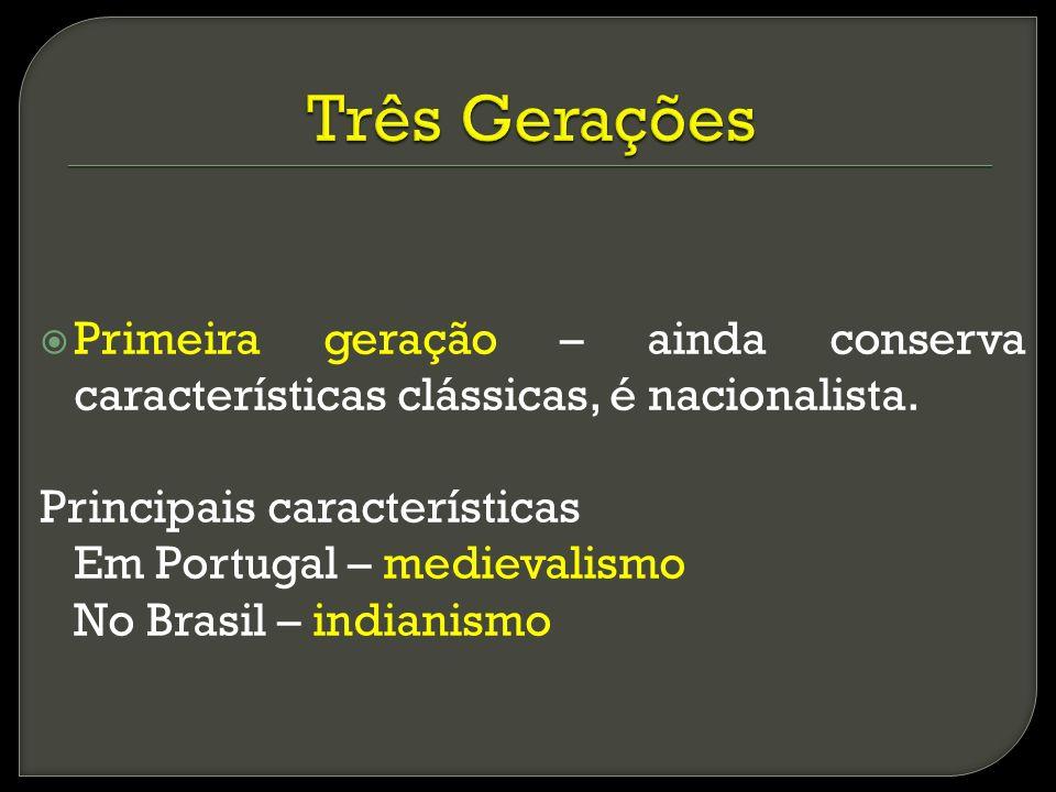 Segunda geração Ultrarromantismo, exagero do subjetivismo e do emocionalismo – tédio (mal do séc.), escapismo, Byronismo (Lorde Byron)