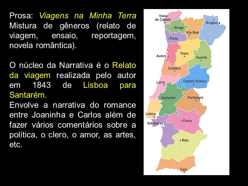 1840-1850 Ultra-romantismo; Ideais estéticos românticos; Liberdade de criação; Principais autores: Camilo Castelo Branco e Soares Passos