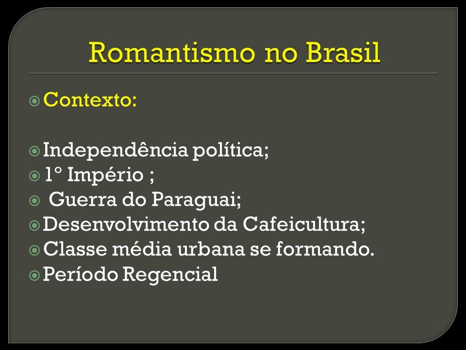 Revolta com reformas de D.João Orgulho pela independência Projeto de construção de um novo país.