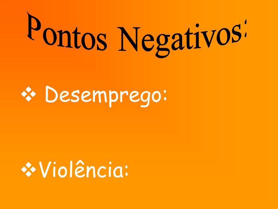 Desemprego: Violência: