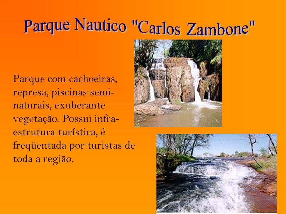 Parque com cachoeiras, represa, piscinas semi- naturais, exuberante vegetação. Possui infra- estrutura turística, é freqüentada por turistas de toda a