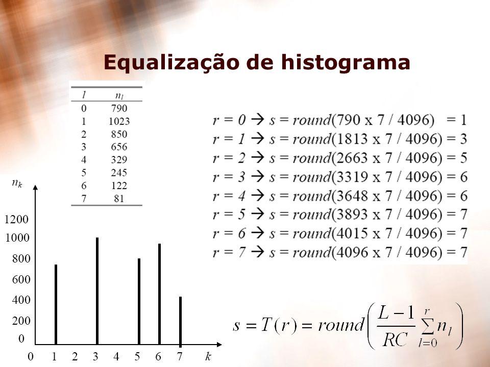 14 Equalização de histograma