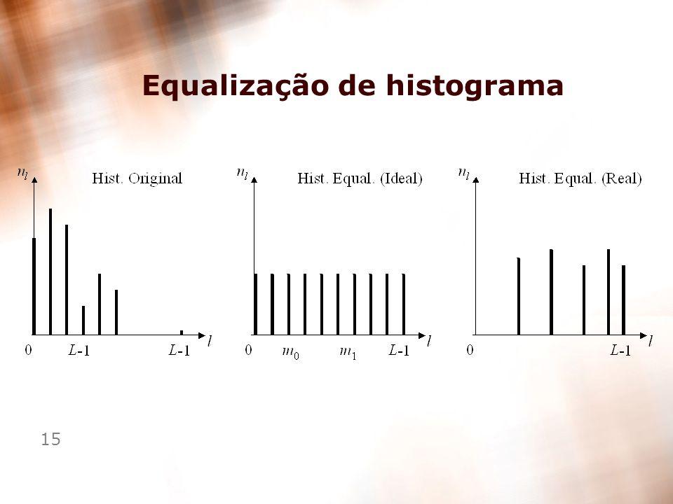 15 Equalização de histograma