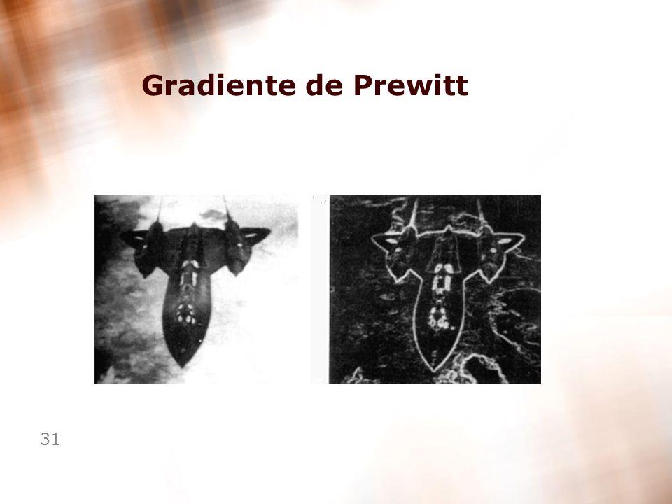 31 Gradiente de Prewitt