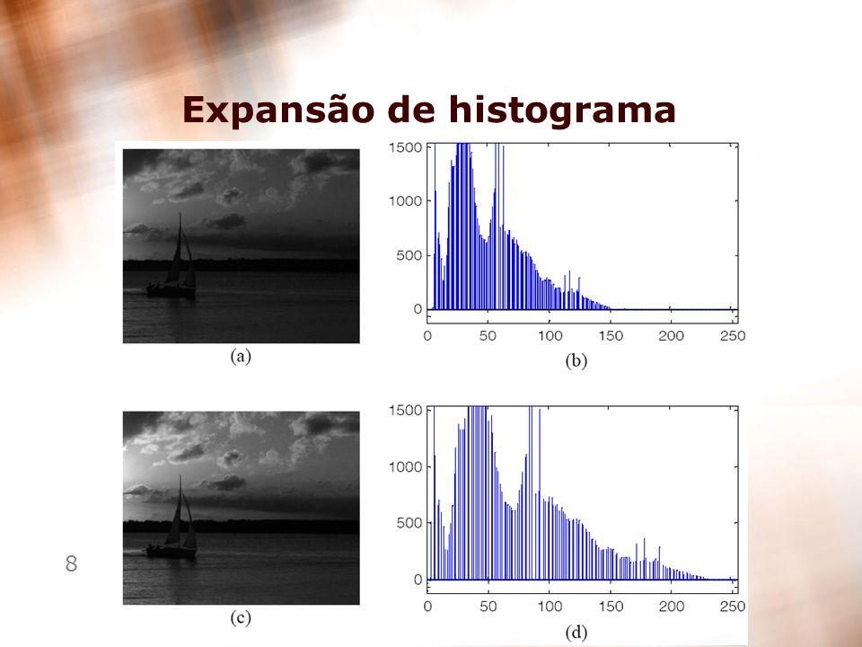 8 Expansão de histograma