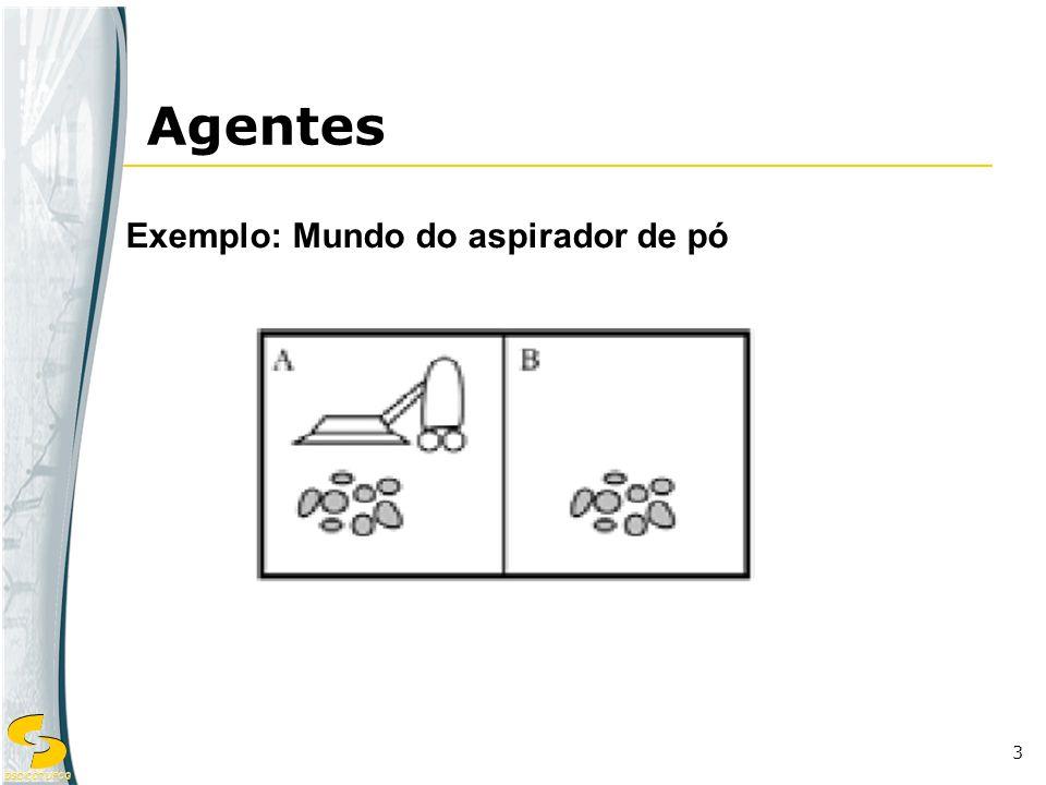 DSC/CCT/UFCG 3 Exemplo: Mundo do aspirador de pó Agentes