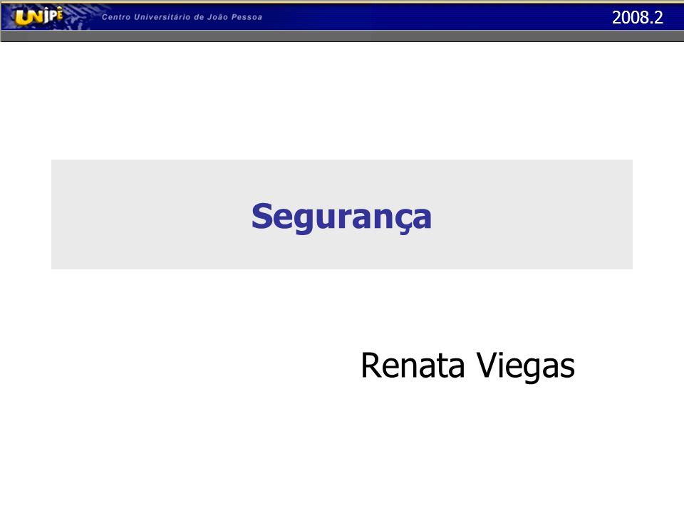 2008.2 Segurança Renata Viegas