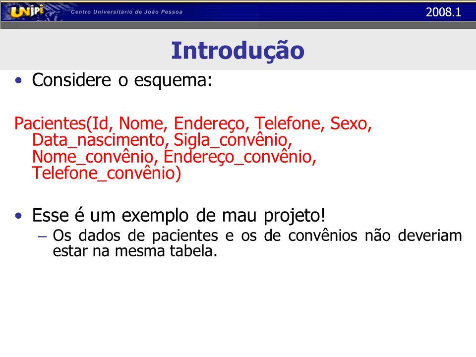 2008.1 Exercício...