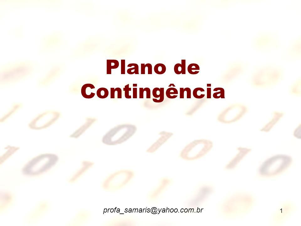 1 Plano de Contingência profa_samaris@yahoo.com.br