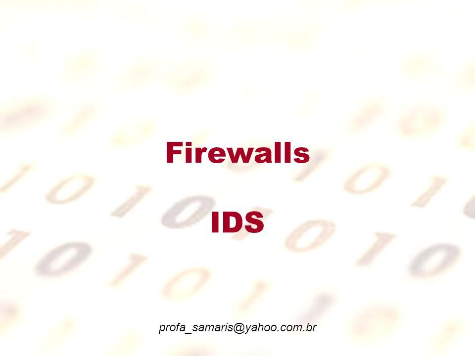 Firewalls A primeira camada, é a rede externa, que está interligada com a Internet através do roteador, nesta camada a rede só conta com o filtro de pacotes .