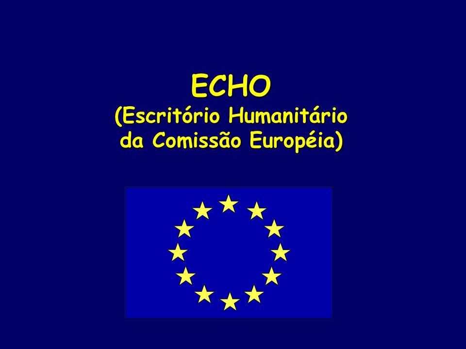 ECHO (Escritório Humanitário da Comissão Européia)