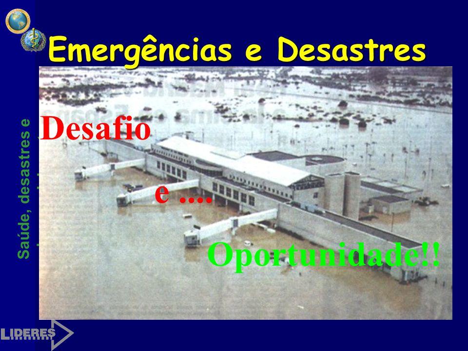 Saúde, desastres e desenvolvimento Execução do Plano Exercício de simulaçãoExercício de simulação SimulacroSimulacro Emergência / desastreEmergência /