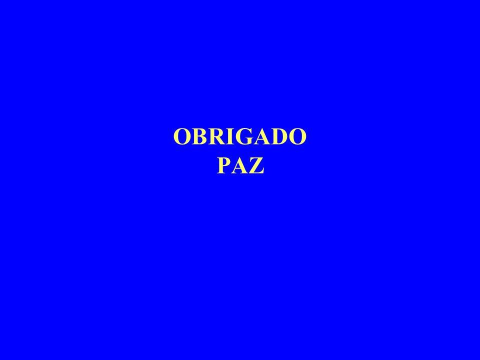 OBRIGADO PAZ