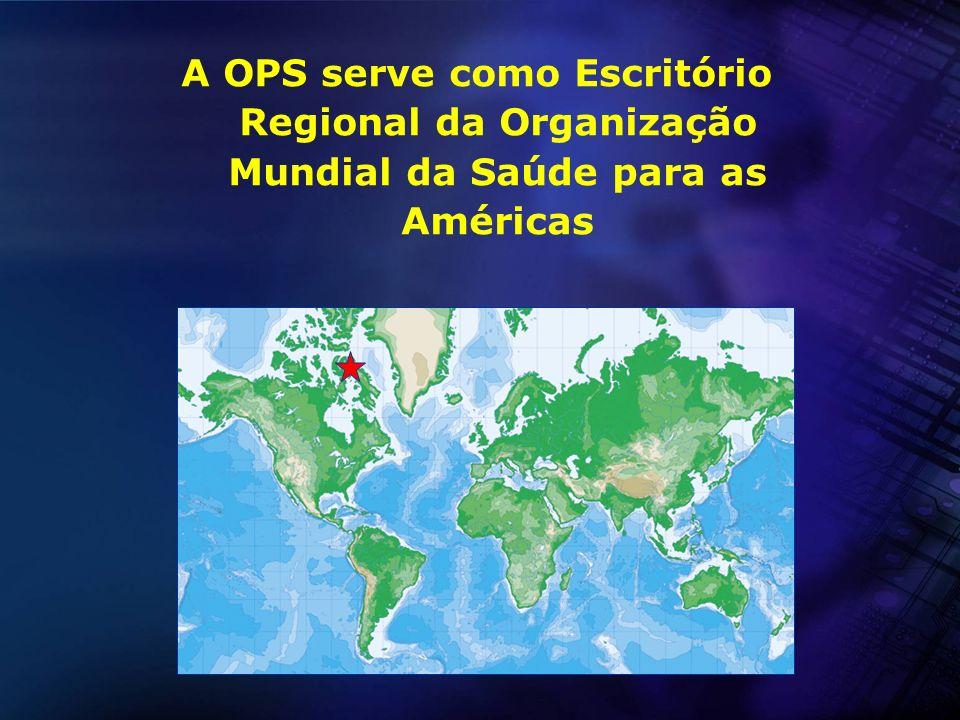 Um programa descentralizado Sede da OPS Washington, D.C.
