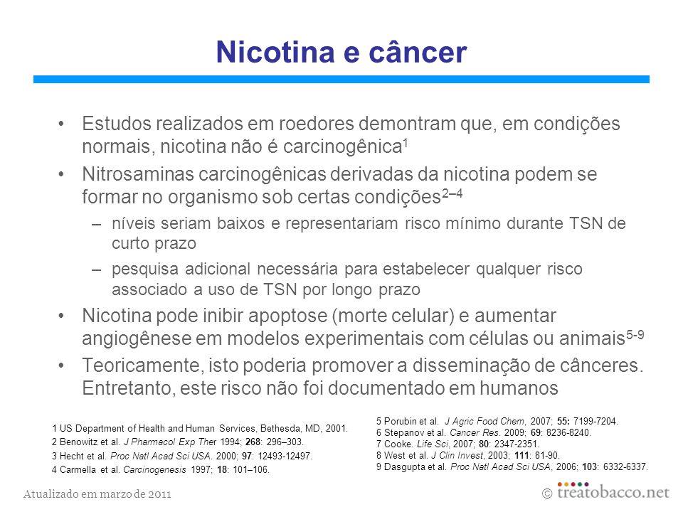 Atualizado em marzo de 2011 1 NCI Monograph 13.2001.5 Bernert et al.