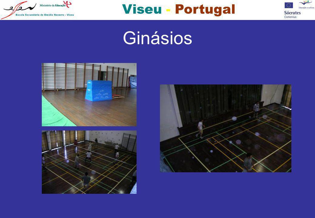 Viseu - Portugal Ginásios