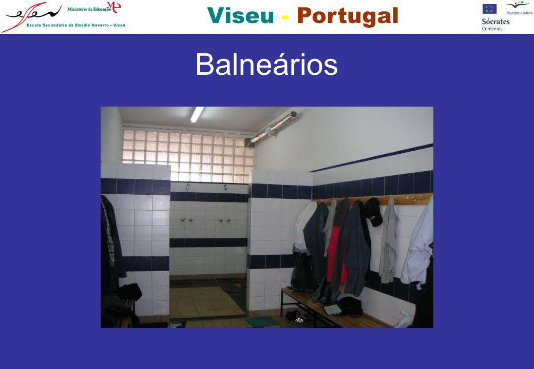 Viseu - Portugal Balneários