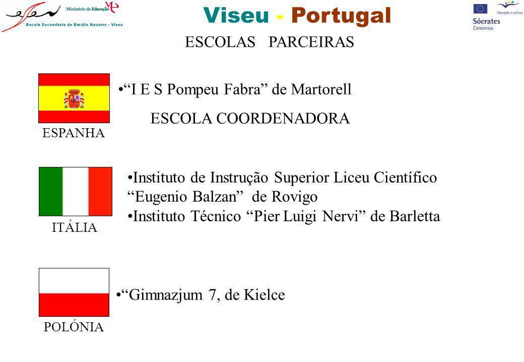 Viseu - Portugal Serviços de apoio: O Bar dos Alunos e a Sala de Convívio...