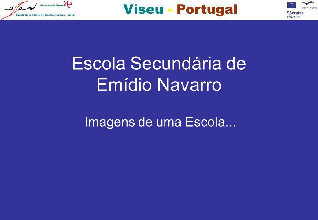 Viseu - Portugal FACHADA PRINCIPAL DA ESCOLA ANTIGA ENTRADA DA ESCOLA