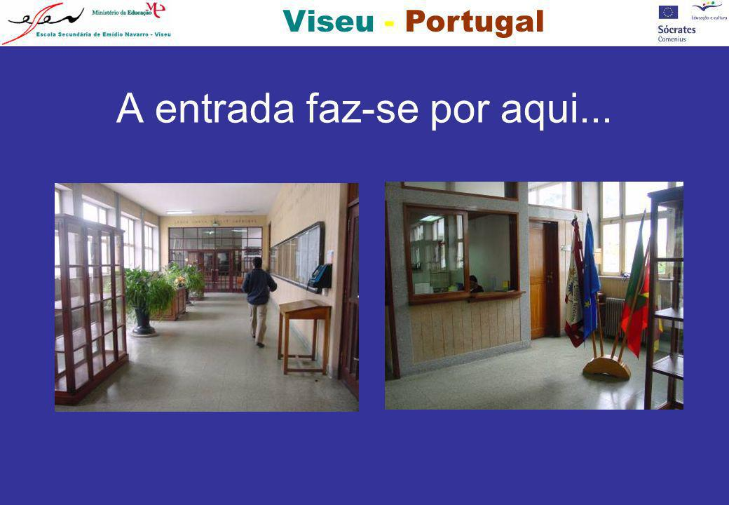 Viseu - Portugal...ou pelo elevador exterior.