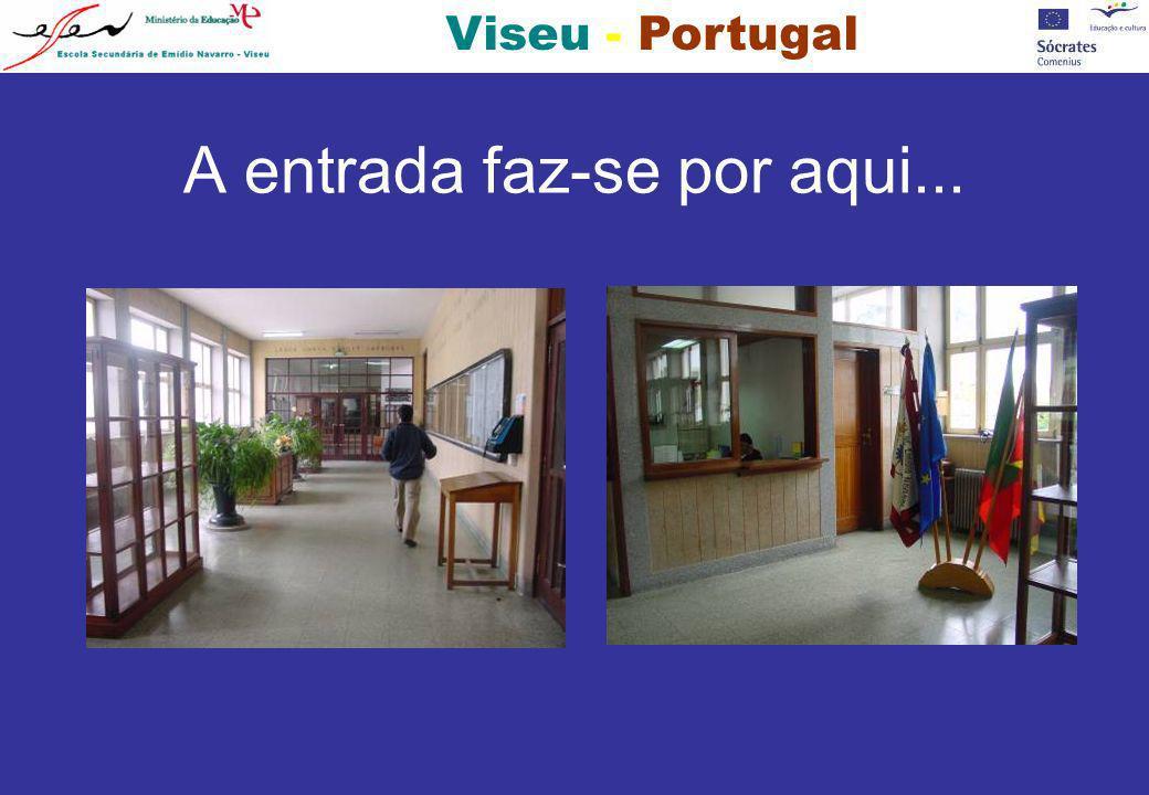 Viseu - Portugal... e os pombos.