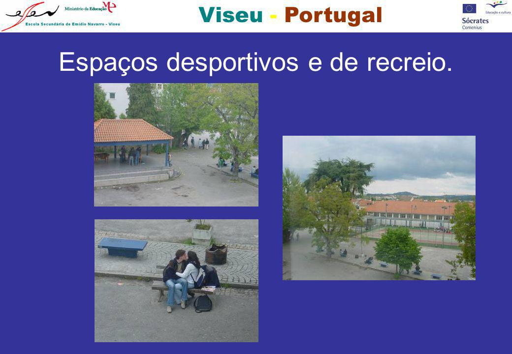 NÍVEL DA ESCOLA: SECUNDÁRIO TÍTULO DO PROJECTO: ESTUDO COMPARATIVO DO MEIO AMBIENTE ENTRE 5 CIDADES EUROPEIAS LOCALIZAÇÃO DA ESCOLA: CIDADE DE VISEU, REGIÃO DA BEIRA ALTA, CENTRO NORTE DE PORTUGAL PROFESSORES: 177 PSICÓLOGOS: 2 PESSOAL ADMINISTRATIVO: 14 PESSOAL AUXILIAR: 39 ALUNOS DIURNOS : 1077 ALUNOS NOCTURNOS: 347 DADOS DA ESCOLA