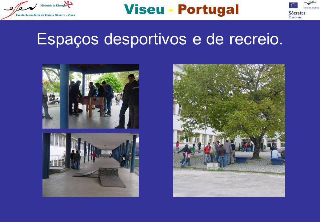 Viseu - Portugal Espaços desportivos e de recreio.