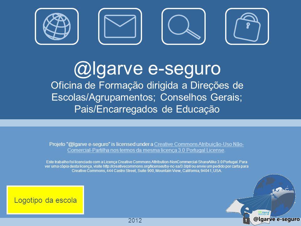 2012 Este trabalho foi licenciado com a Licença Creative Commons Attribution-NonCommercial-ShareAlike 3.0 Portugal.